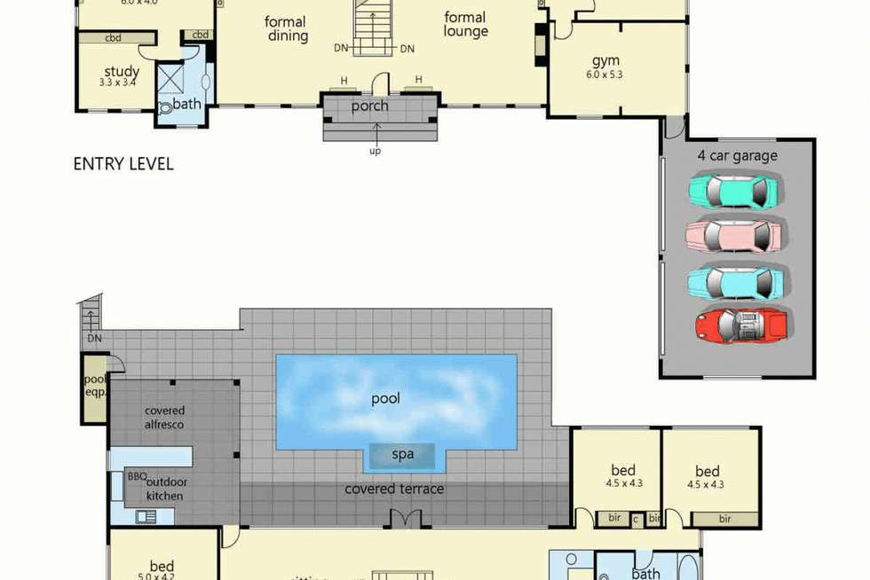 Floorplan of Homely house listing, 19 Watts Parade, Mount Eliza VIC 3930