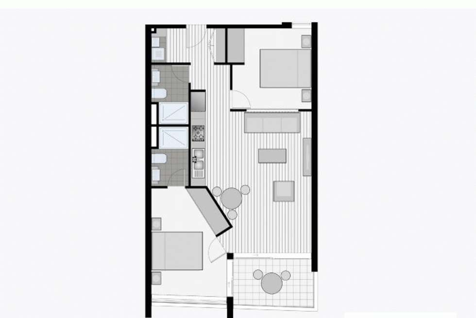Floorplan of Homely apartment listing, 301/7 Carlton Street, Prahran VIC 3181