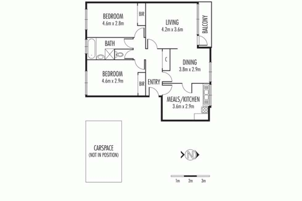 Floorplan of Homely apartment listing, 6/3 Carinya Crescent, Caulfield North VIC 3161