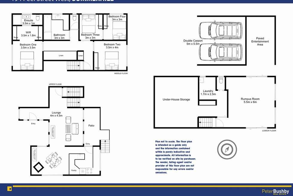 Floorplan of Homely house listing, 194 Peel Street West, Summerhill TAS 7250