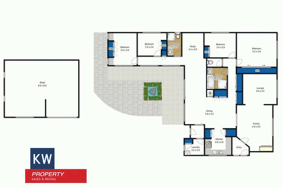 Floorplan of Homely house listing, 54 Grant Street, Morwell VIC 3840