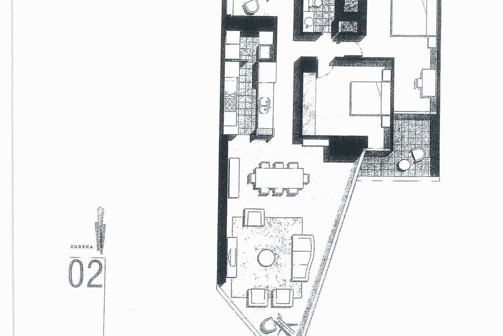 Floorplan of Homely apartment listing, 1602/7 Riverside Quay, Southbank VIC 3006