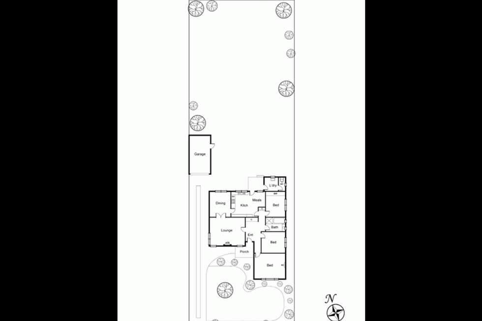 Floorplan of Homely house listing, 31 Renown Street, Bentleigh VIC 3204