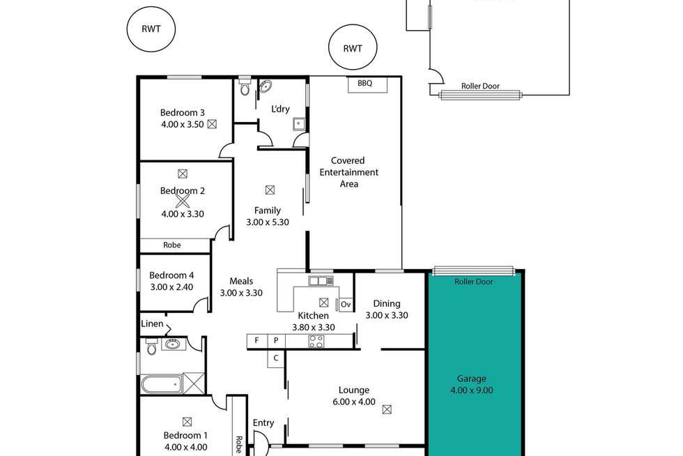 Floorplan of Homely house listing, 91 Adelaide Road, Mannum SA 5238