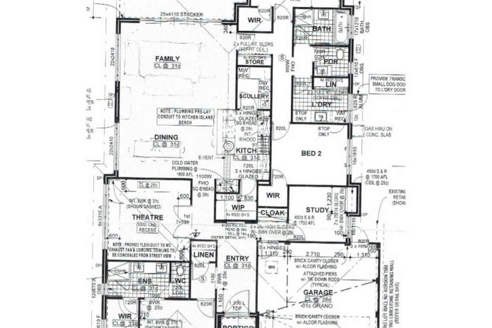Floorplan of Homely house listing, 22 Albillo Parade, Caversham WA 6055