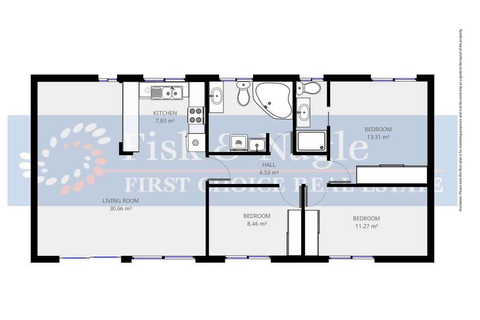 Floorplan of Homely unit listing, 6/20 Elizabeth Street, Merimbula NSW 2548