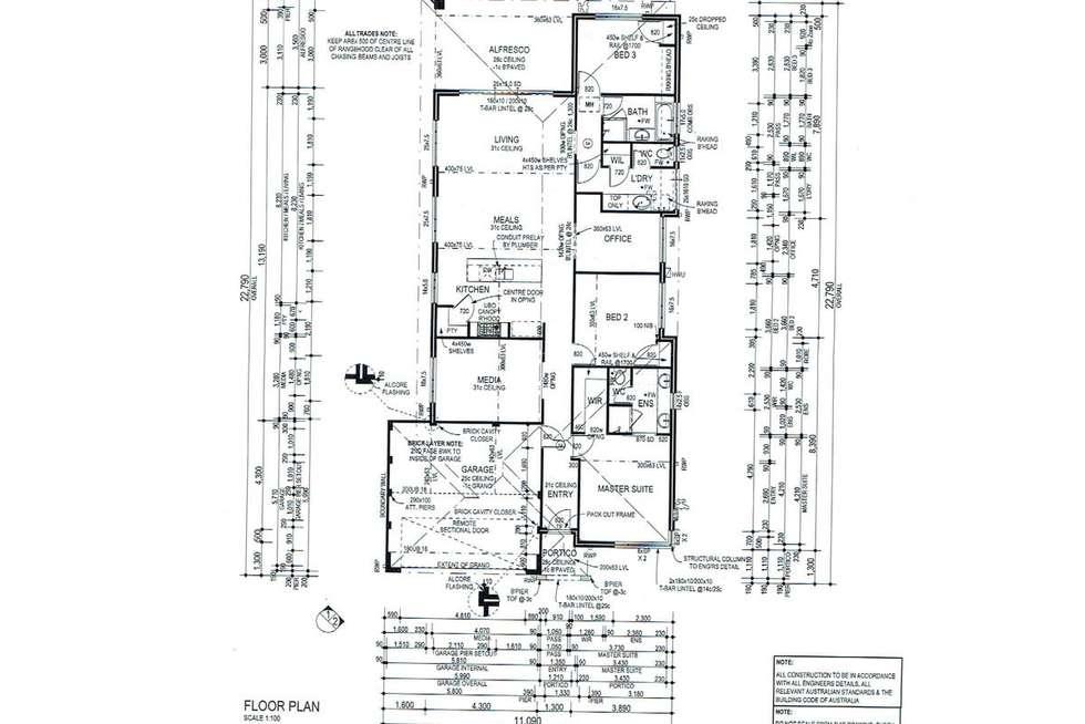 Floorplan of Homely house listing, 13 Cheyne Way, Caversham WA 6055