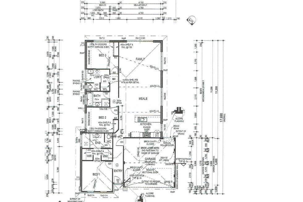 Floorplan of Homely house listing, 8 Topsham Way, Caversham WA 6055