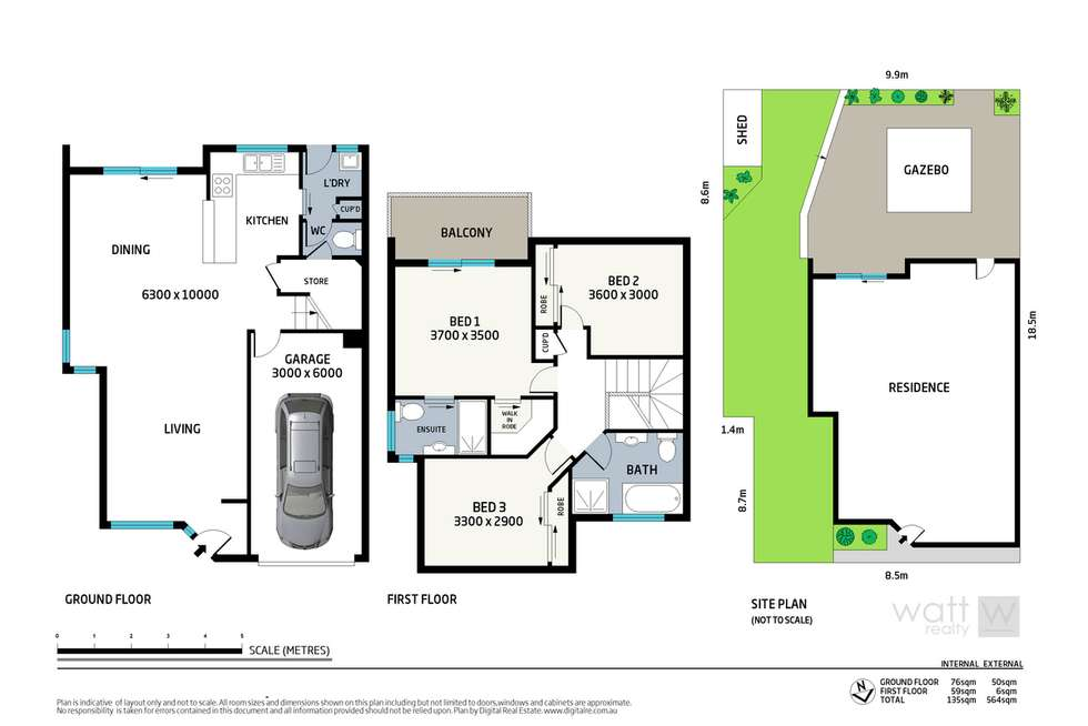 Floorplan of Homely townhouse listing, 14/11 Glin Avenue, Newmarket QLD 4051