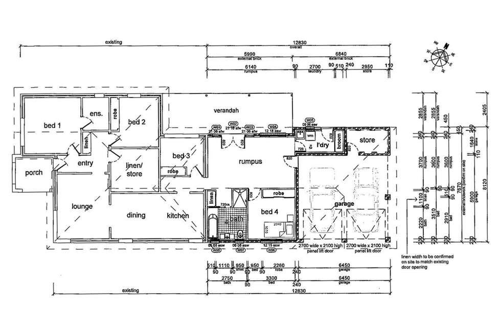 Floorplan of Homely house listing, 27 Dobbs Street, Wagga Wagga NSW 2650