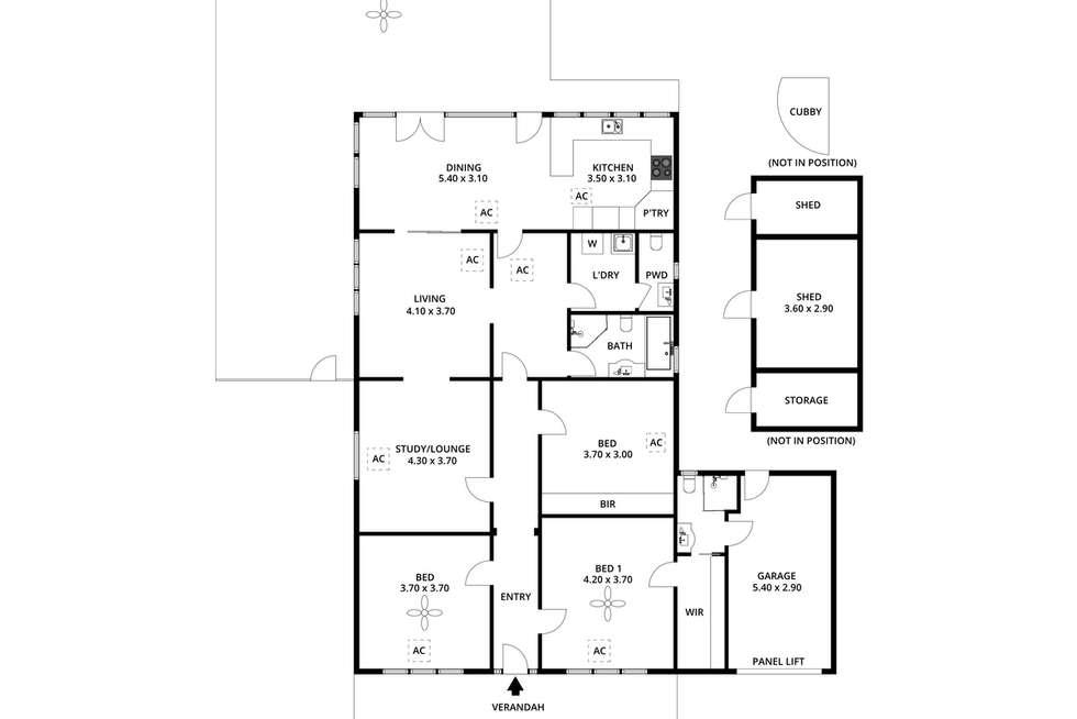 Floorplan of Homely house listing, 6 Sunnymeade Avenue, Fullarton SA 5063