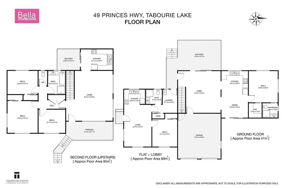 Floorplan of Homely house listing, 49 Princes Highway, Lake Tabourie NSW 2539
