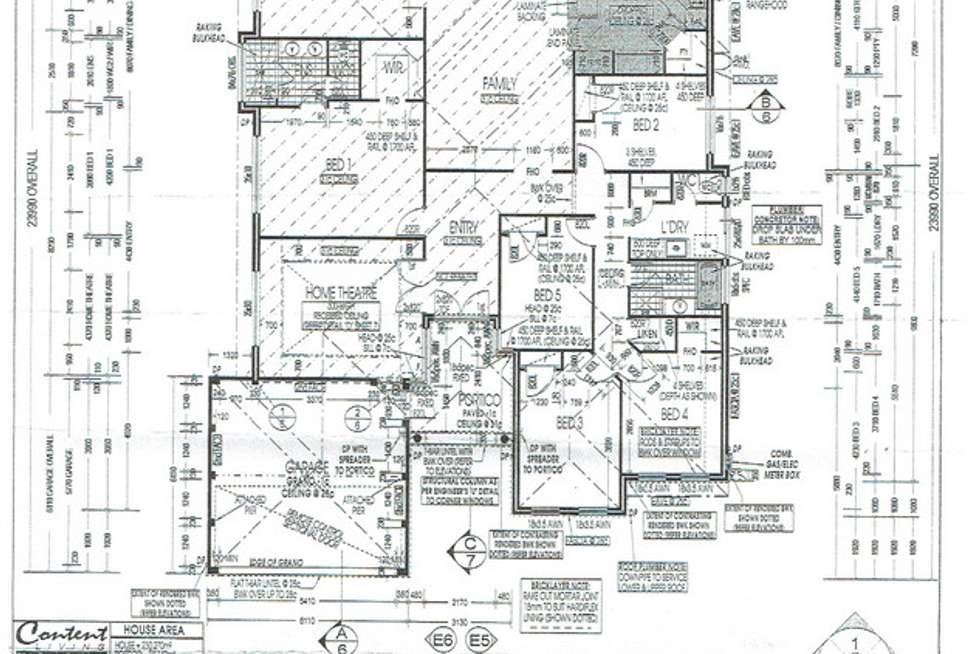 Floorplan of Homely house listing, 12 Colorino Avenue, Caversham WA 6055