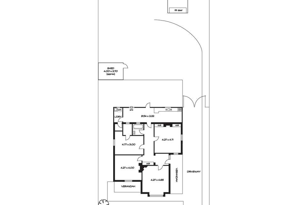 Floorplan of Homely house listing, 135 & 137 Portrush Road, Evandale SA 5069