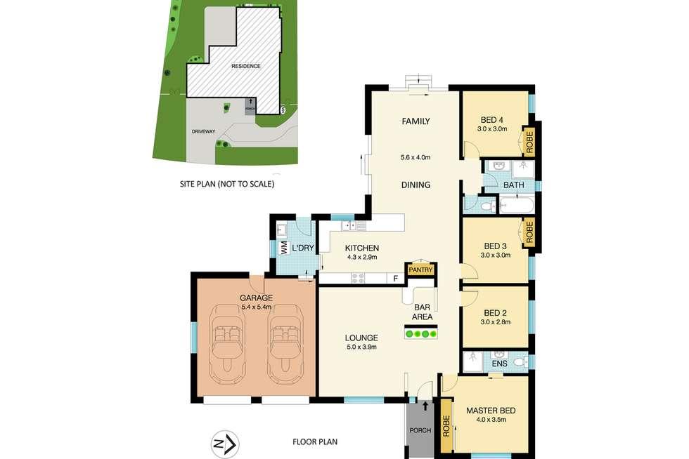 Floorplan of Homely house listing, 80 Hancock Drive, Cherrybrook NSW 2126