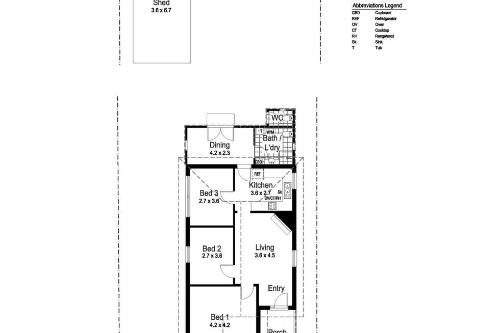Floorplan of Homely house listing, 14 Crampton Street, Wagga Wagga NSW 2650