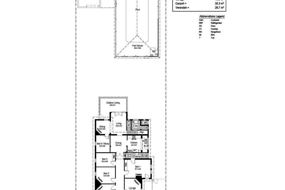 Floorplan of Homely house listing, 89 Johnston Street, Wagga Wagga NSW 2650