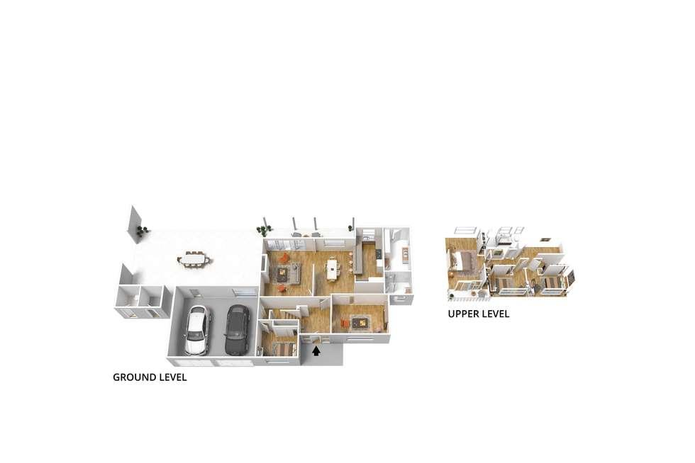Floorplan of Homely house listing, 14 Cordoba Avenue, Gulfview Heights SA 5096