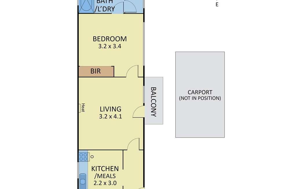 Floorplan of Homely unit listing, 5/176 Murrumbeena Road, Murrumbeena VIC 3163