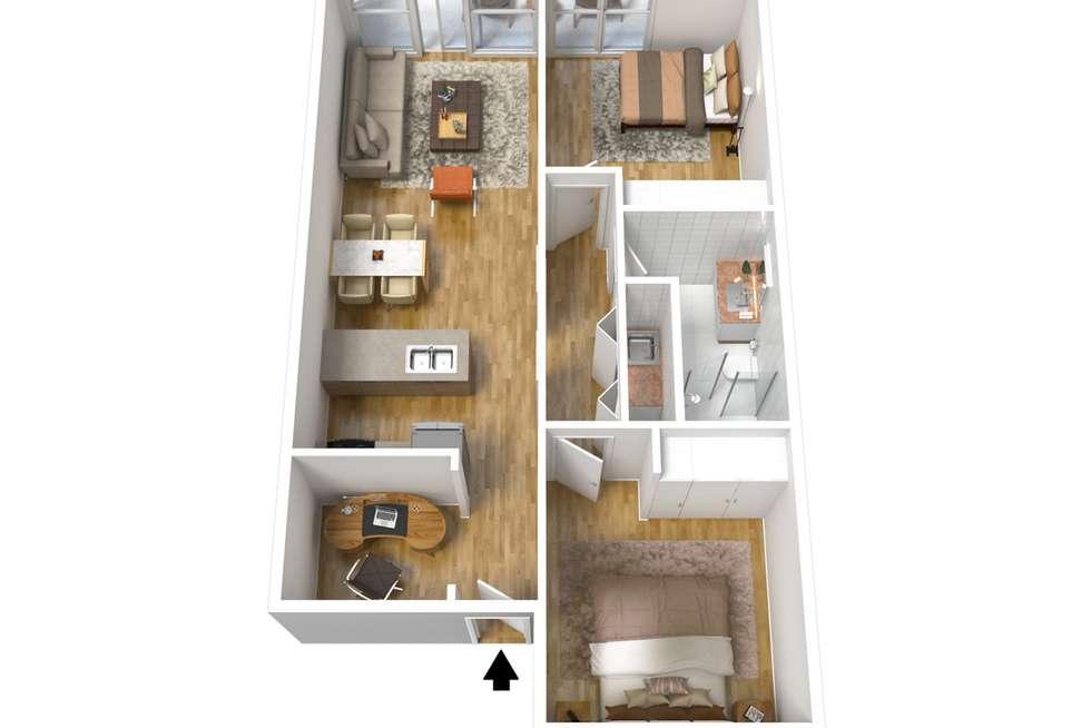 Floorplan of Homely apartment listing, 5/103 Elder Drive, Mawson Lakes SA 5095
