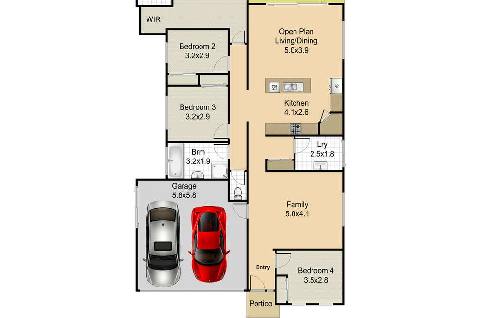 Floorplan of Homely house listing, 27 Chamomile Street, Griffin QLD 4503