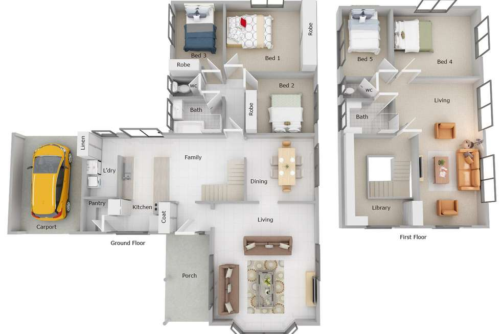 Floorplan of Homely house listing, 7 Birtwistle Place, Roleystone WA 6111