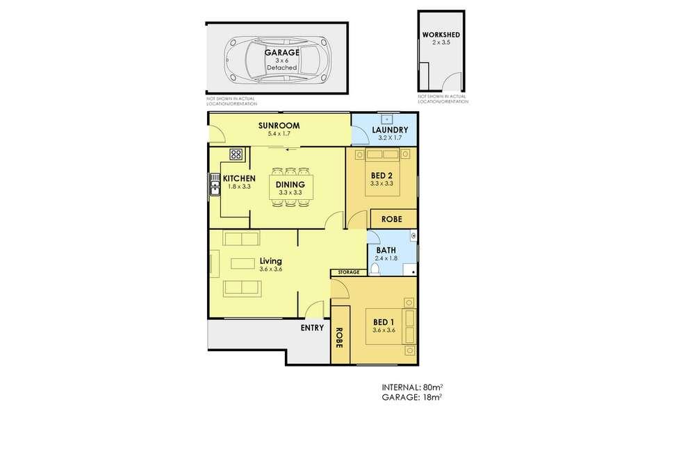 Floorplan of Homely house listing, 1 Vale Street, Mount Saint Thomas NSW 2500
