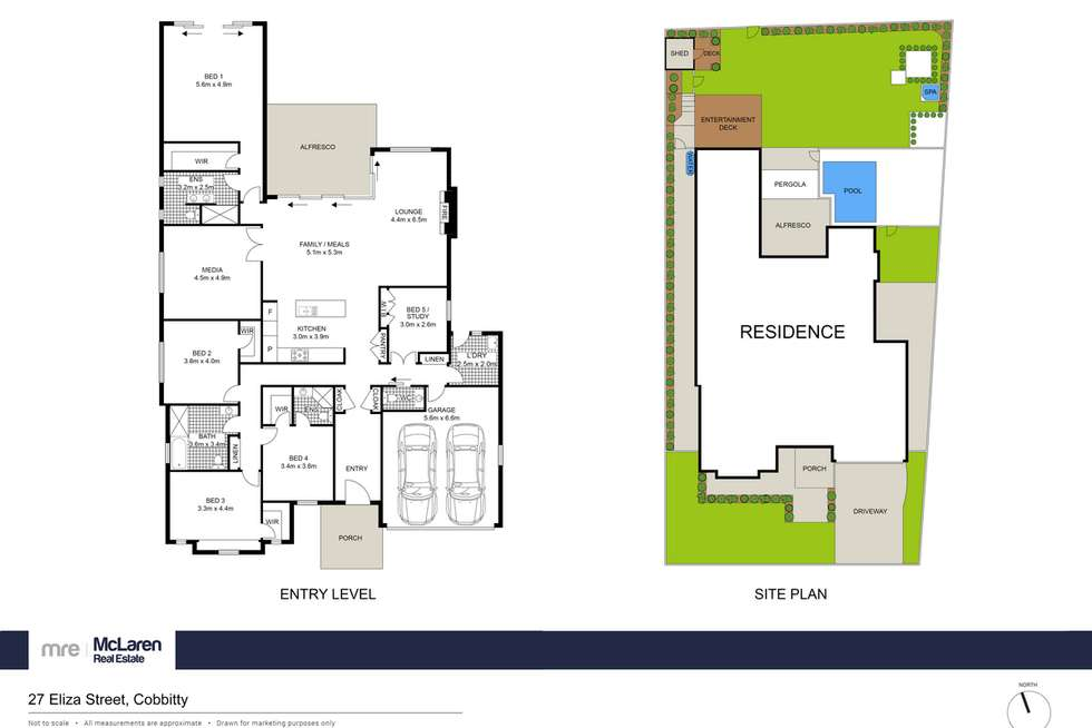 Floorplan of Homely house listing, 27 Eliza Street, Cobbitty NSW 2570