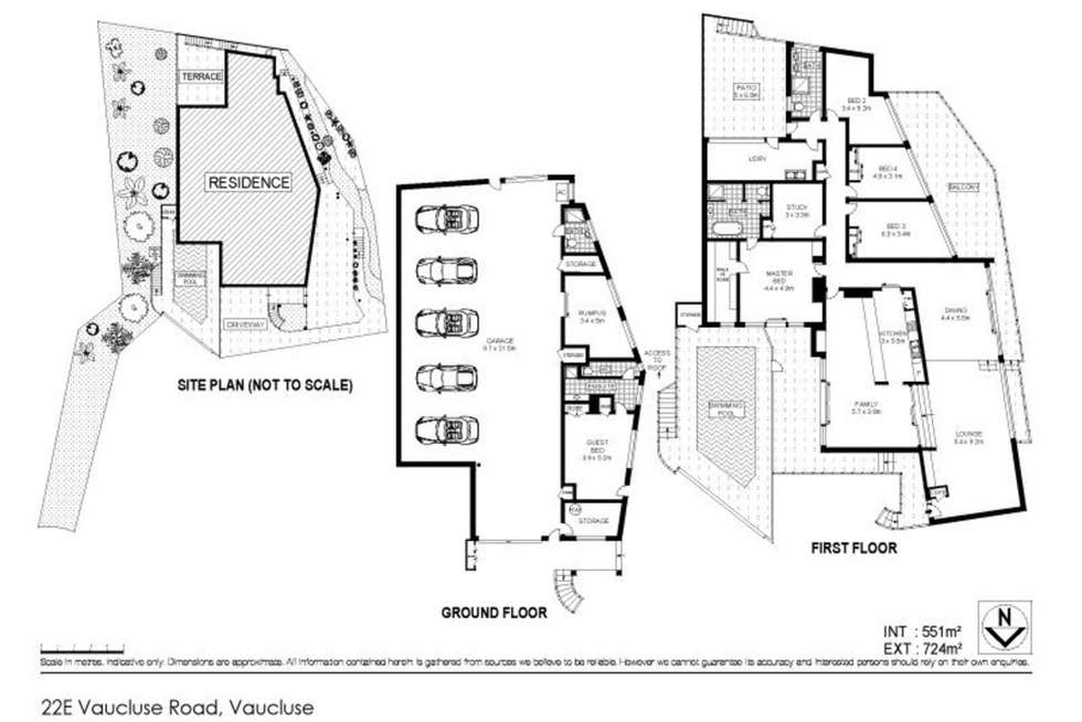 Floorplan of Homely house listing, 22E Vaucluse Road, Vaucluse NSW 2030