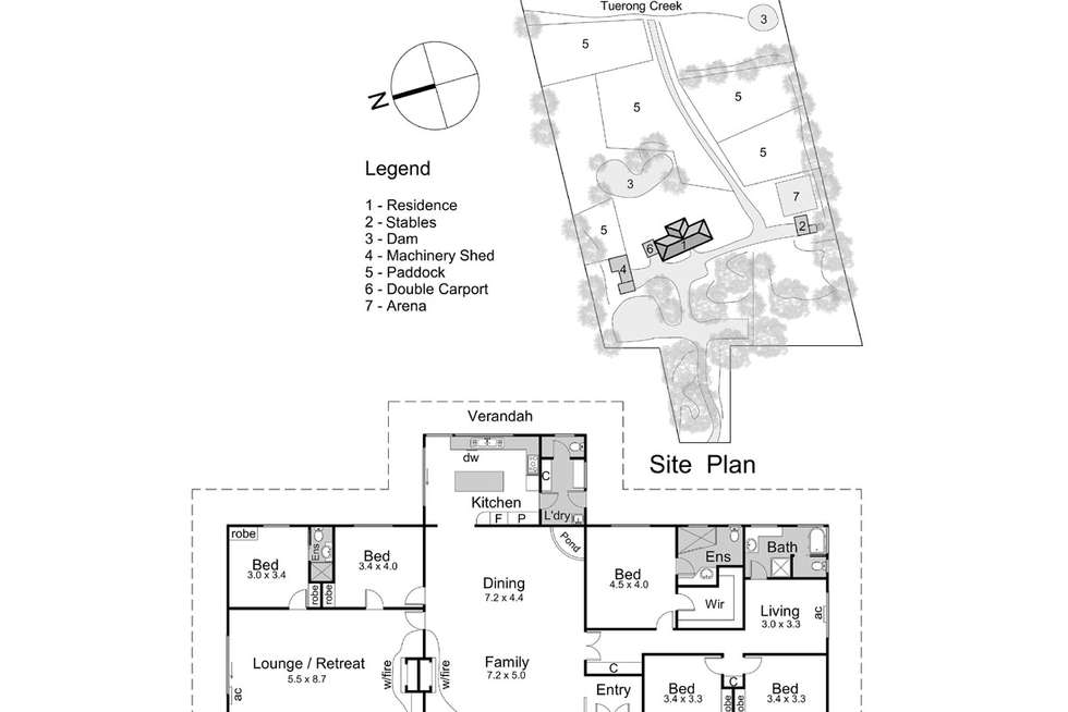 Floorplan of Homely acreageSemiRural listing, 987 Moorooduc Highway, Moorooduc VIC 3933
