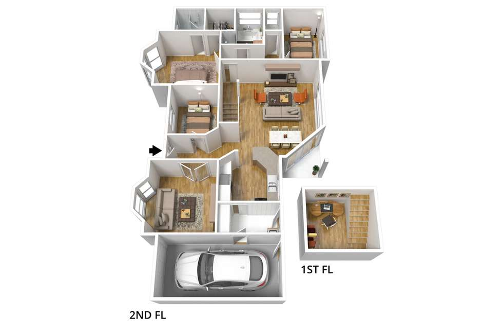 Floorplan of Homely house listing, 2A Edward Street, Evandale SA 5069