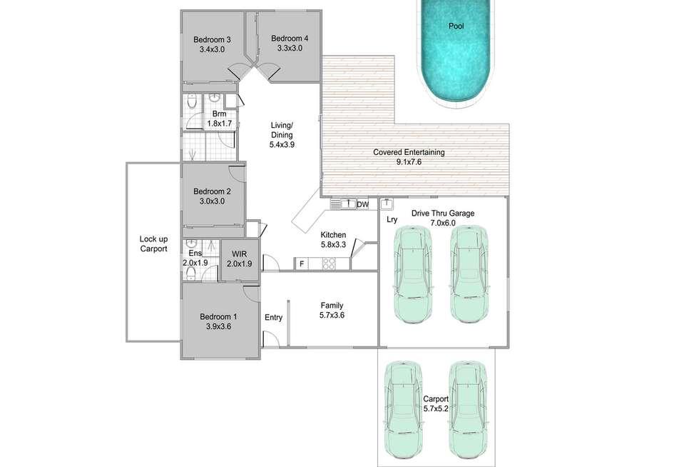 Floorplan of Homely house listing, 13 Paperbark Street, Murrumba Downs QLD 4503