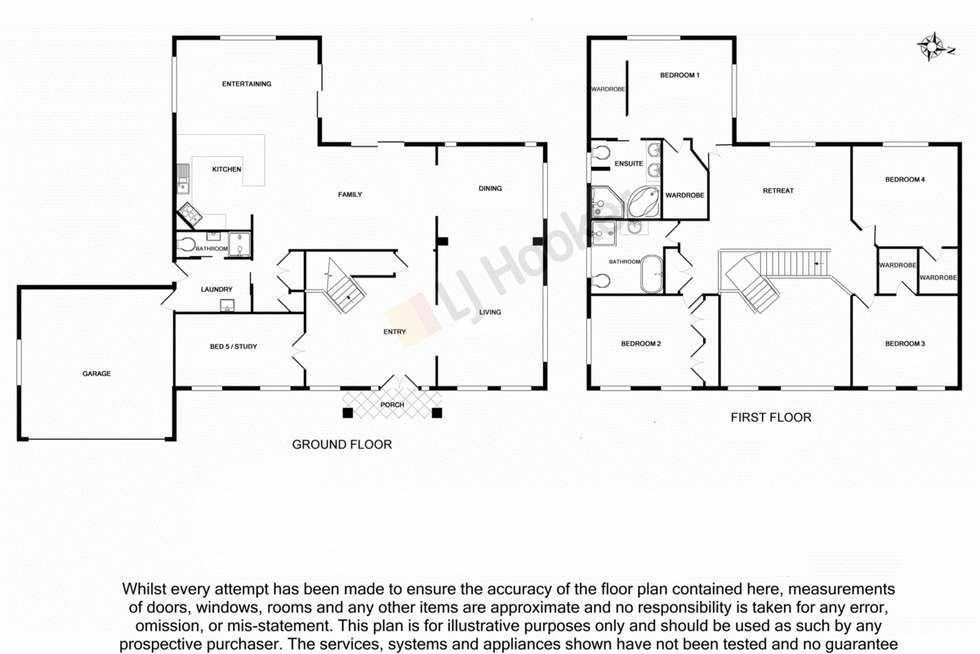 Floorplan of Homely house listing, 48-50 Blue Wren Place, Heritage Park QLD 4118