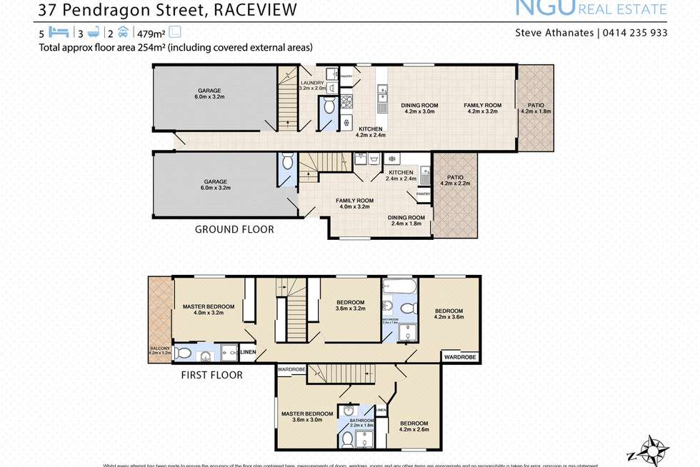 Floorplan of Homely house listing, 37 Pendragon Street, Raceview QLD 4305