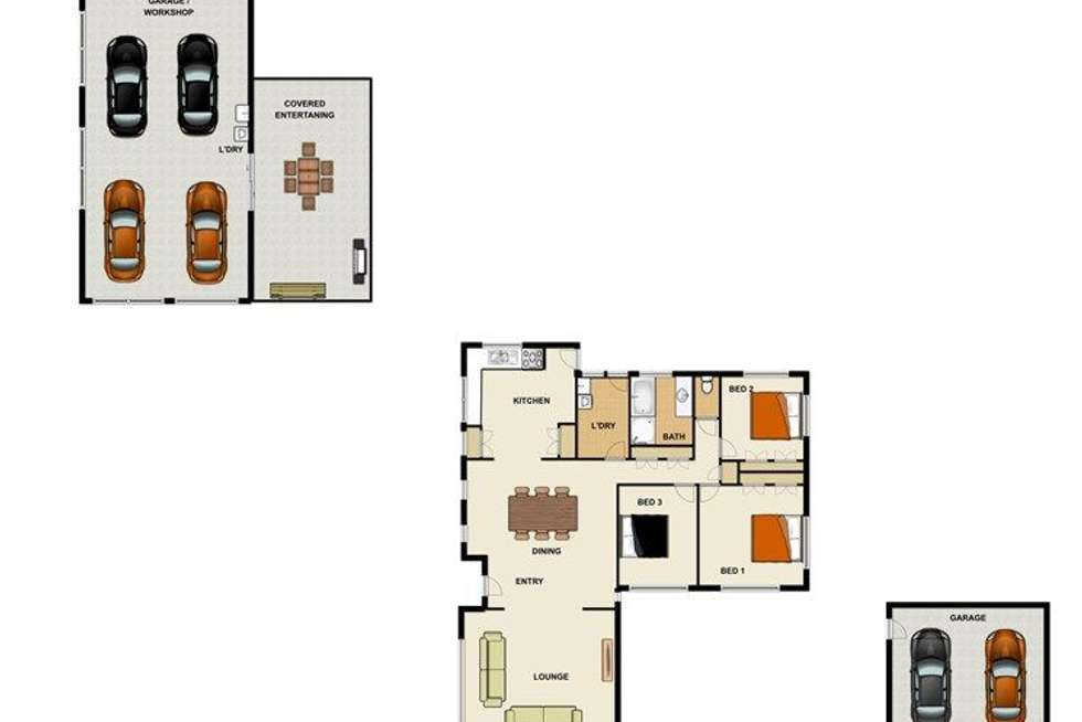 Floorplan of Homely residentialLand listing, 36-38 Considine Street, Ellen Grove QLD 4078