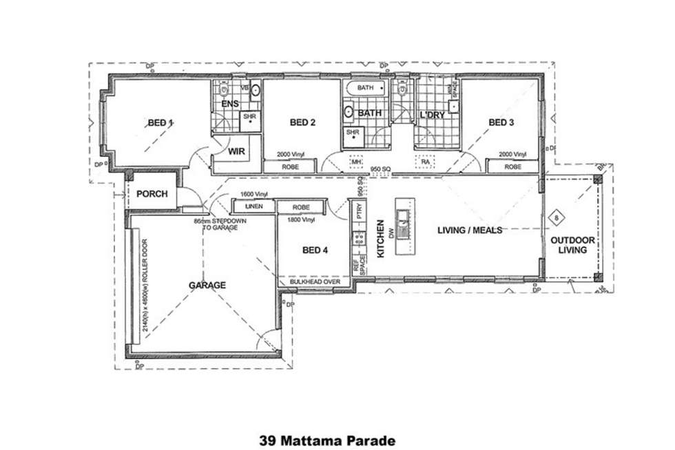 Floorplan of Homely house listing, 39 Muttama Parade, Gobbagombalin NSW 2650