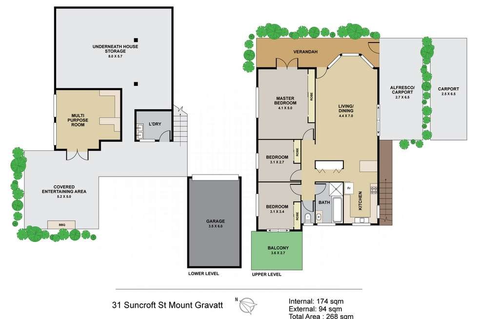 Floorplan of Homely house listing, 31 Suncroft Street, Mount Gravatt QLD 4122