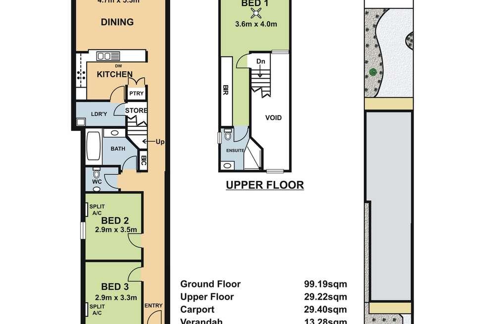 Floorplan of Homely house listing, 148 Drayton Street, Bowden SA 5007