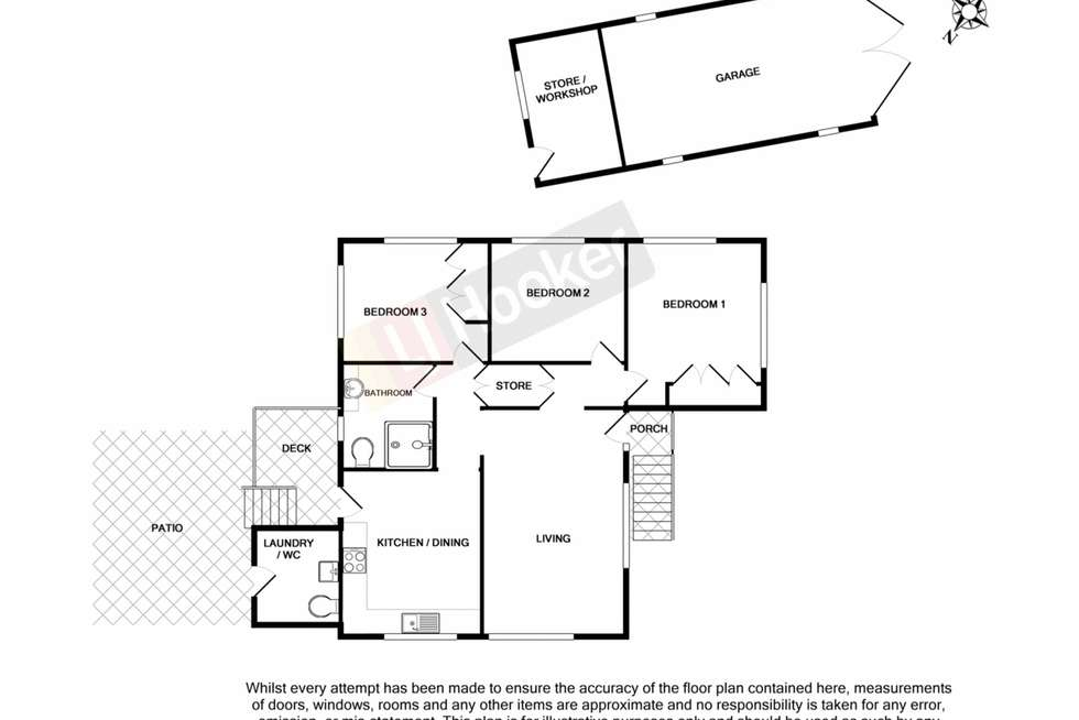 Floorplan of Homely house listing, 6 Babbidge Street, Coopers Plains QLD 4108