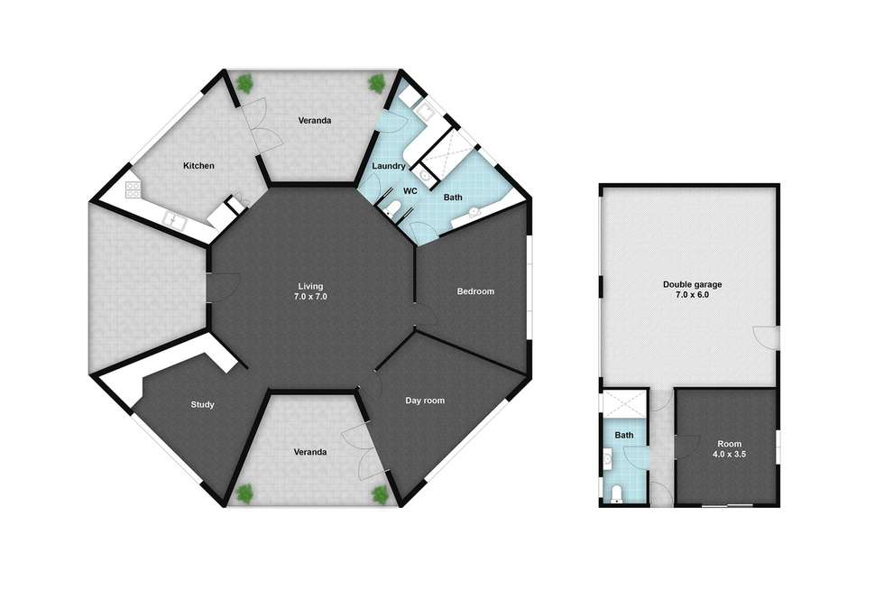 Floorplan of Homely lifestyle listing, 6 Dickson Street, Mount Perry QLD 4671