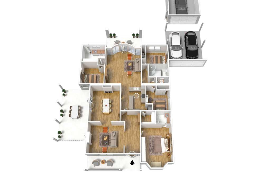 Floorplan of Homely house listing, 68 Lambert  Road, Royston Park SA 5070