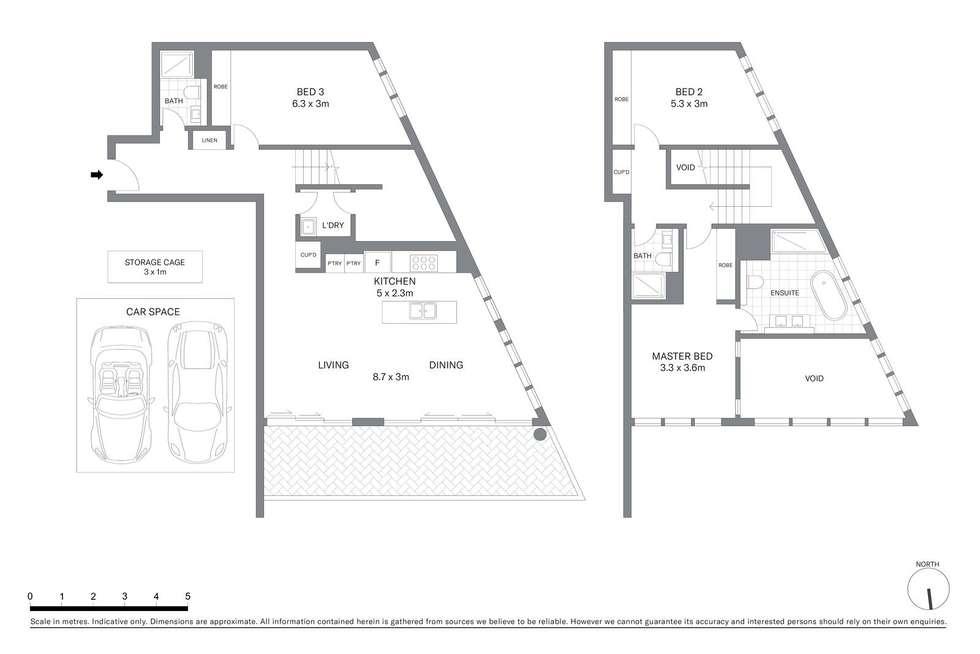 Floorplan of Homely apartment listing, 801/70 Tumbalong Boulevard, Sydney NSW 2000