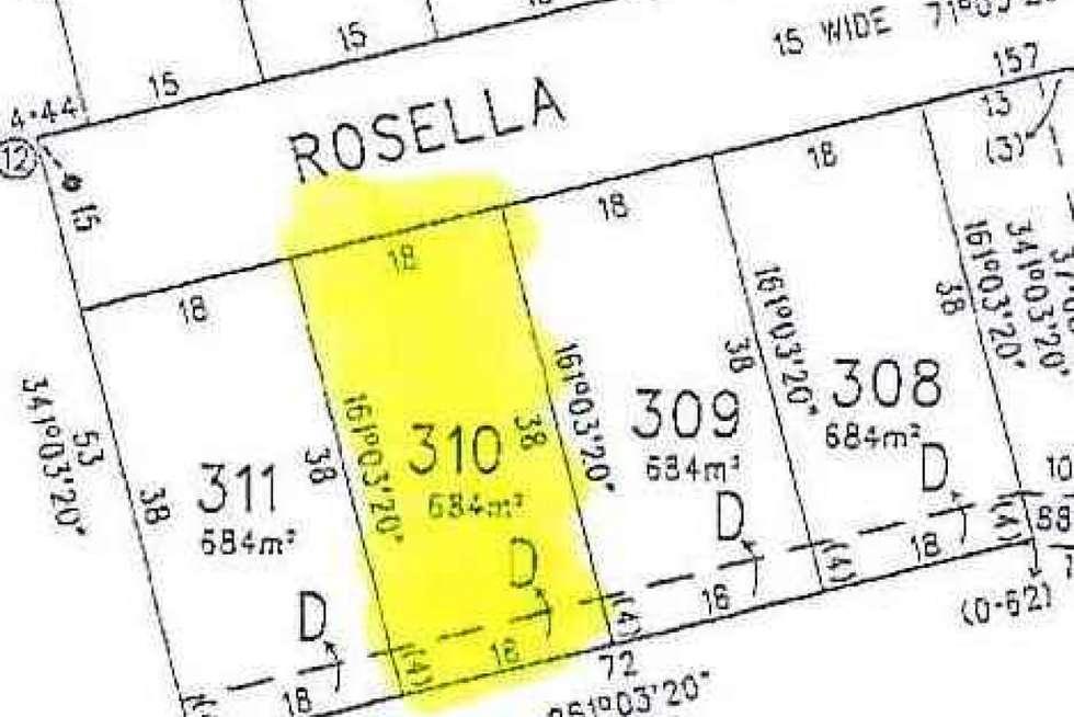 Floorplan of Homely residentialLand listing, 50 Rosella Rise, Mannum SA 5238