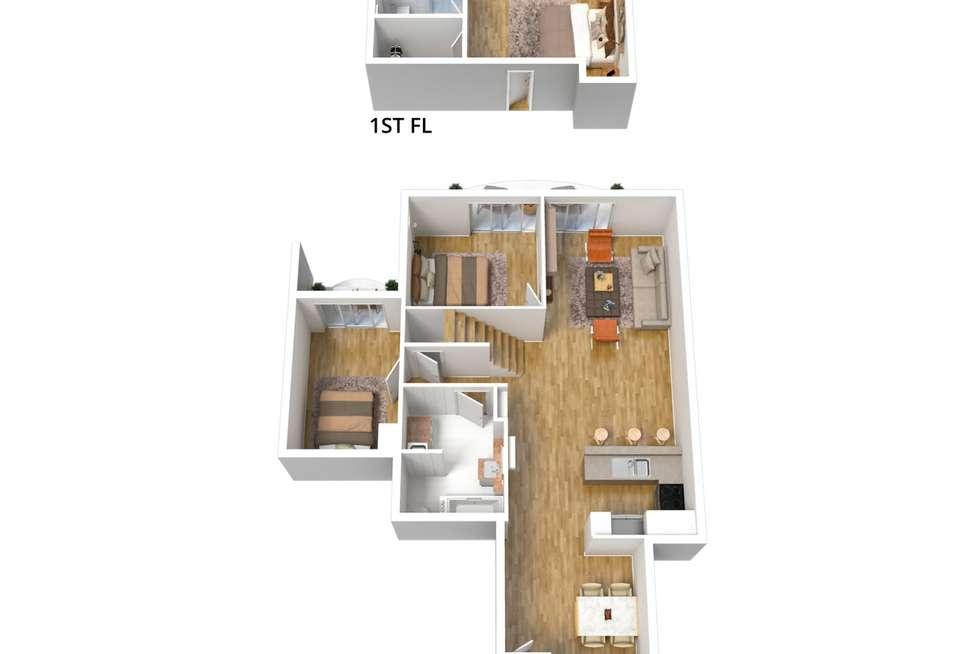 Floorplan of Homely townhouse listing, 22/177 Angas Street, Adelaide SA 5000