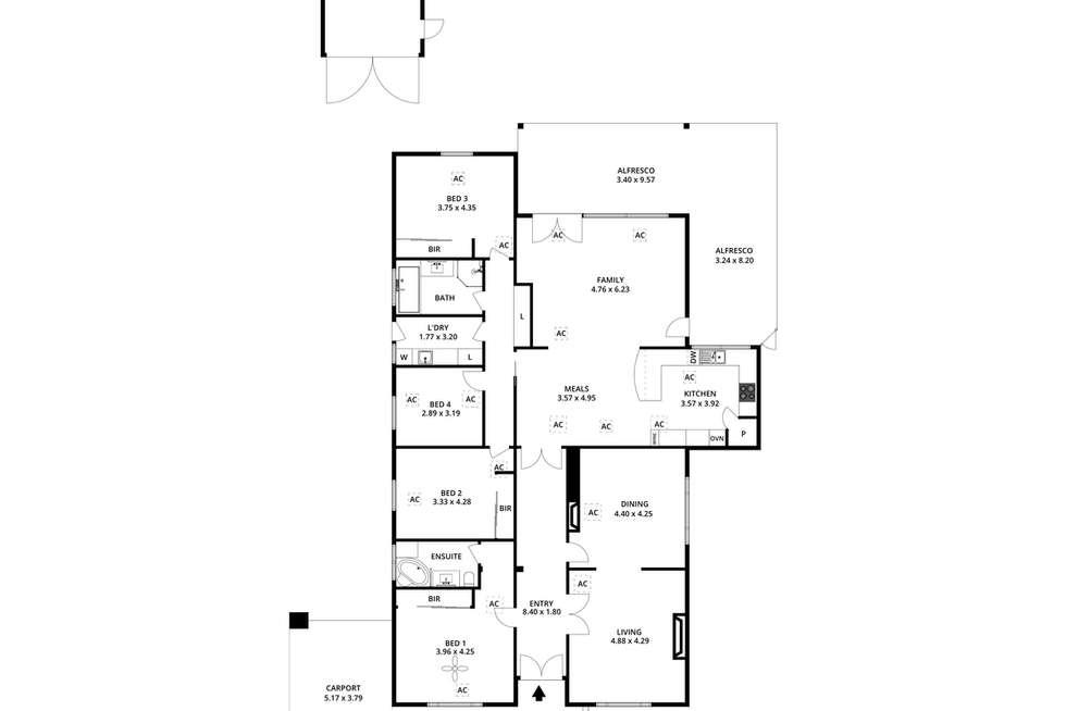 Floorplan of Homely house listing, 19 Oaklands Avenue, Royston Park SA 5070