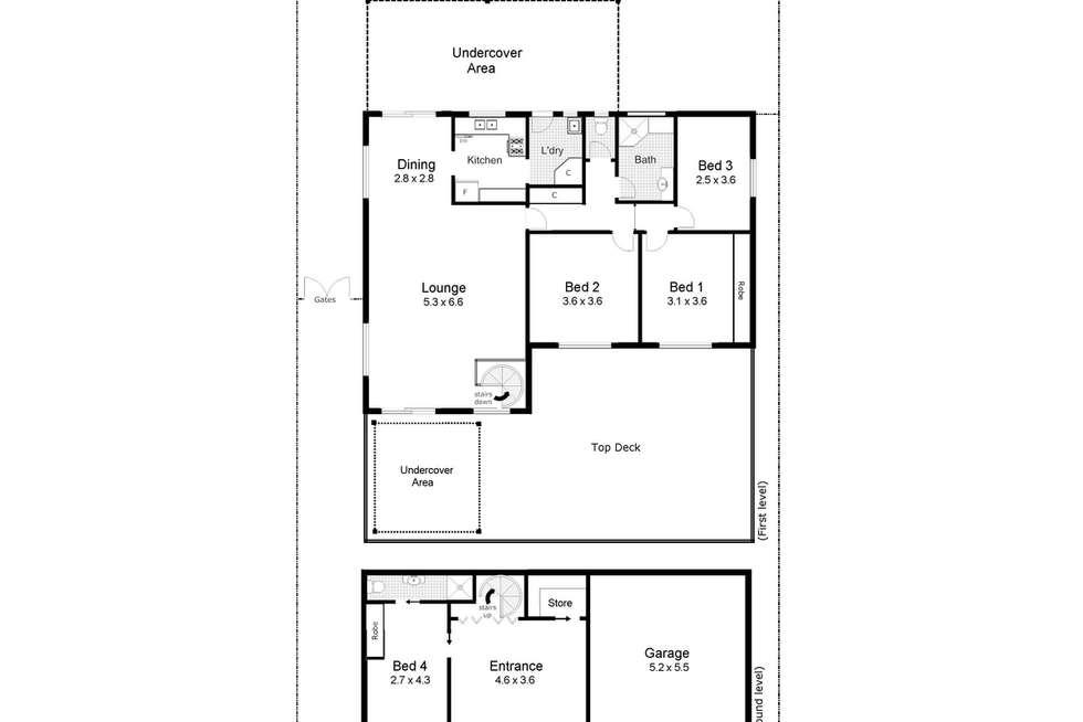 Floorplan of Homely house listing, 22 Warrawong Street, Kooringal NSW 2650