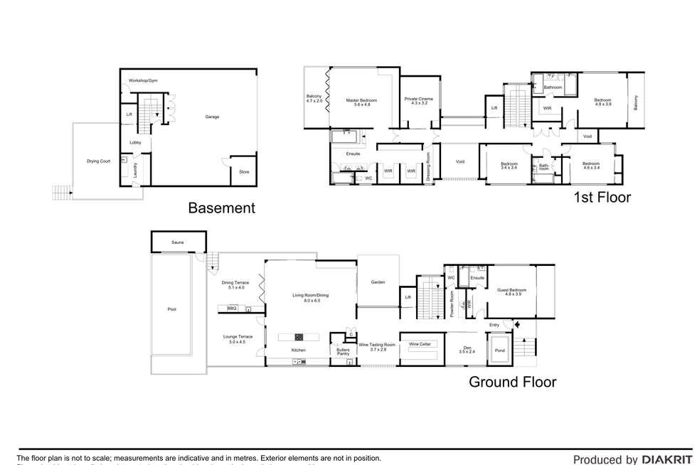 Floorplan of Homely house listing, 30 Turner Avenue, New Farm QLD 4005
