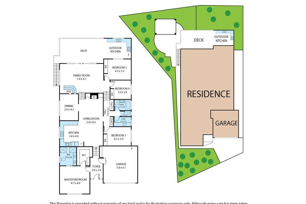 Floorplan of Homely house listing, 37 Smallburn Avenue, Newborough VIC 3825
