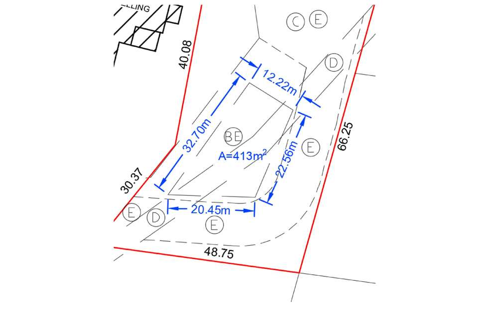 Floorplan of Homely residentialLand listing, LOT 2/3 Holly Road, Burradoo NSW 2576