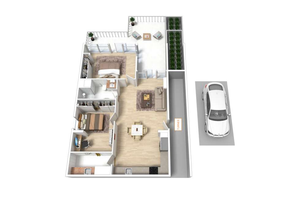 Floorplan of Homely apartment listing, 607/102-110 Waymouth Street, Adelaide SA 5000